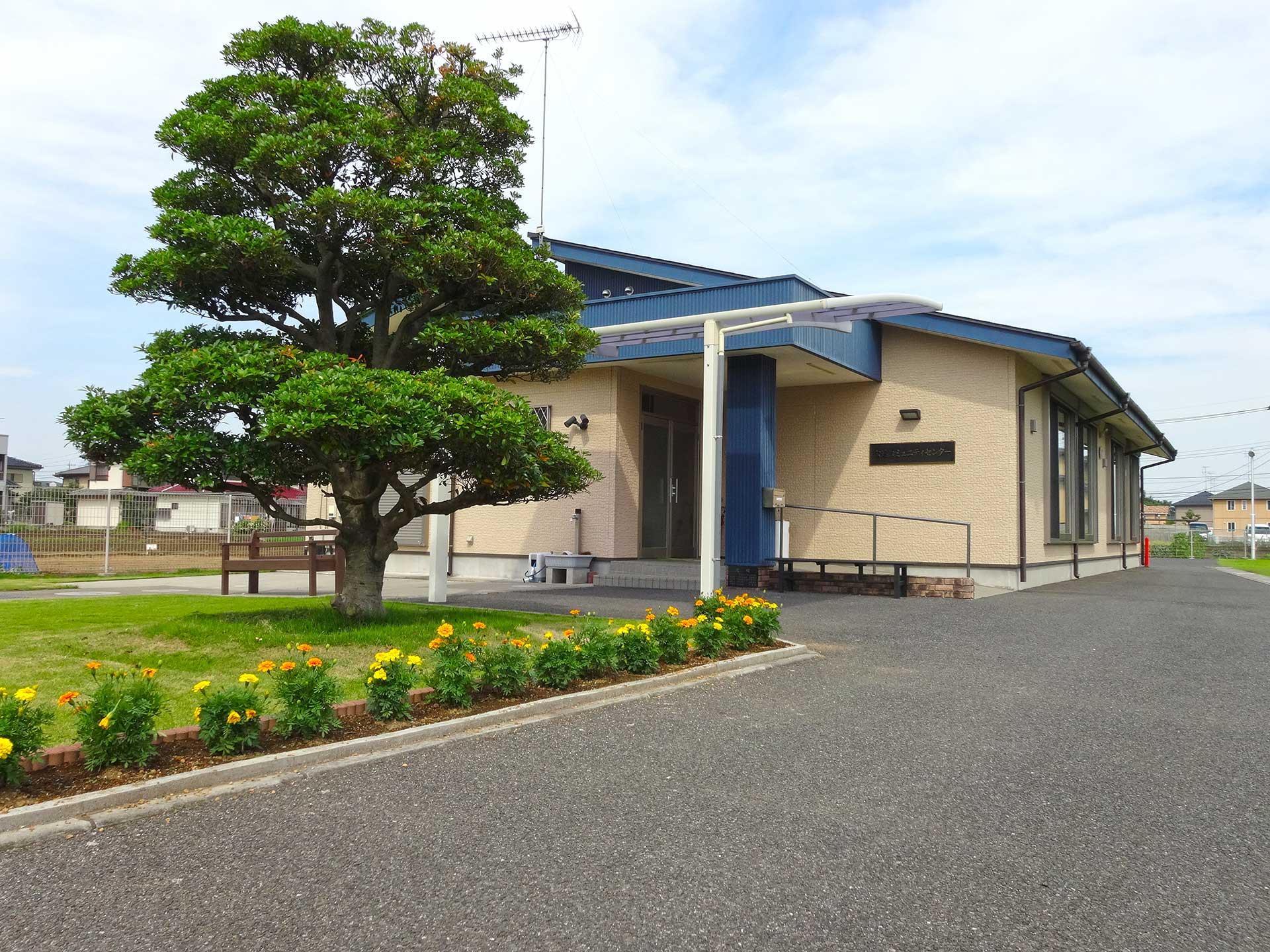 公達コミュニティーセンター 外観写真